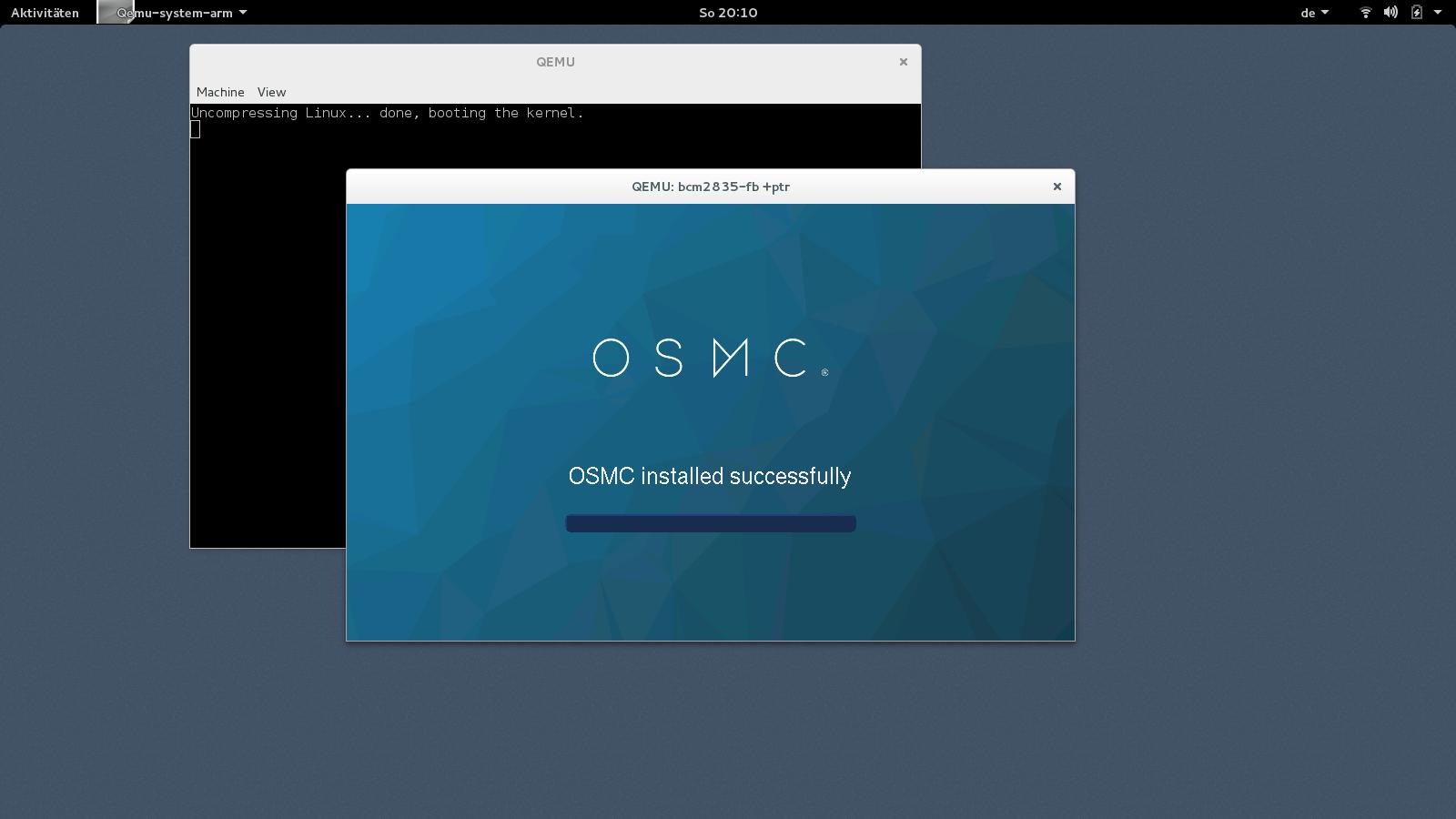 QEMU Raspberry Pi Emulation